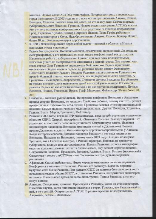 № 118. Конспект указаний к написанию текста брошюры.
