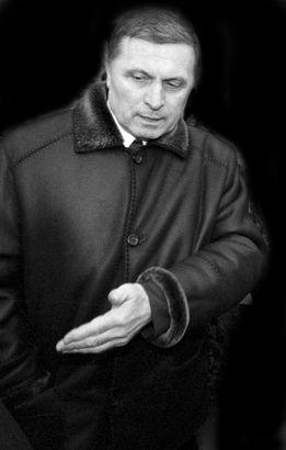 Юрий Аксёненко в марте 2003 года (фото Валерия Грекова).