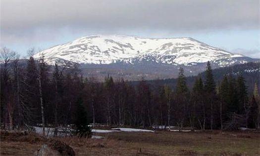 Гора Ямантау: юго-западный склон.