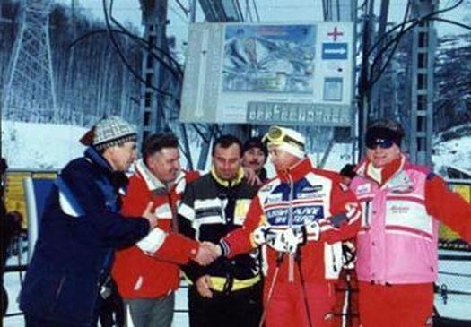 Декабрь 2000-го года: Владимир Путин в «Абзаково».