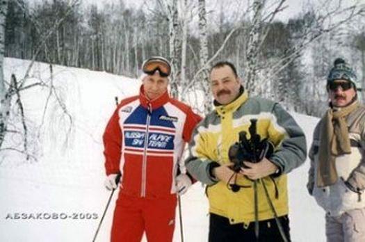 Владимир Путин в «Абзаково»: 2003 год.