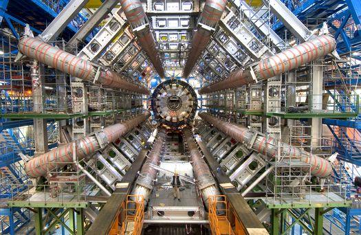 Большой адронный коллайдера – детектор «ATLAS».