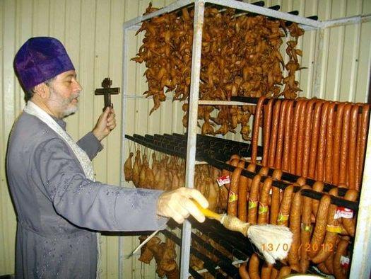 Воистину – православные колбасные изделия!
