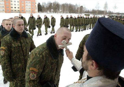 РПЦ и российская армия.