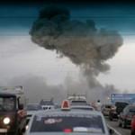 Взрывы боеприпасов на полигоне под Чапаевском.