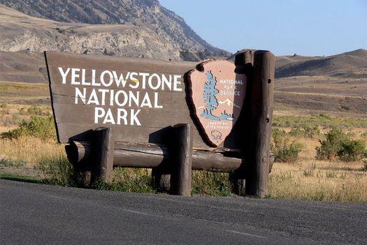 Въезд в Йеллоустоунский национальный парк