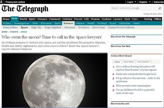 Статья Эдварда Хелмора в газете «The Telegraph» от 26.09.2013 г., скриншот сайта.