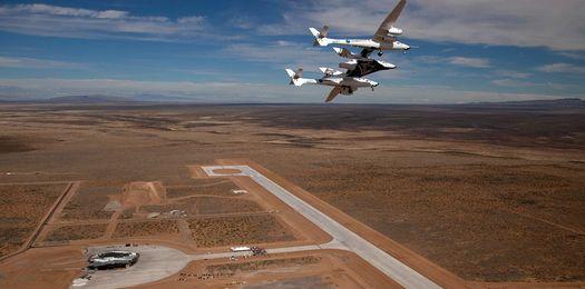 Космодром «Америка» частной компании «Virgin Galactic» Ричарда Брэнсона.