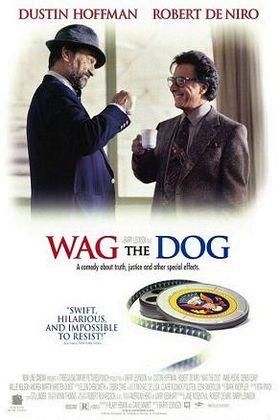 Постер фильма «Хвост виляет собакой».