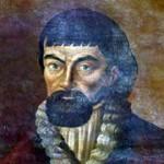Один из прижизненных портретов Емельяна Пугачёва.