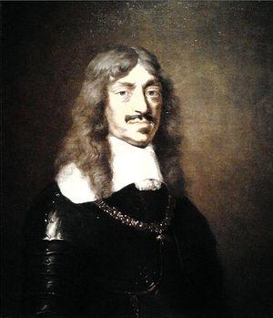 Портрет польского короля (1648-1668) Яна II Казимира (Jan II Kazimierz Waza; 22.03.1609 – 16.12.1672).