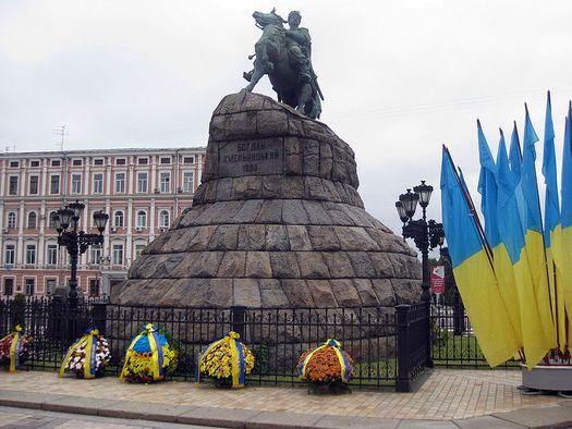 Памятник Богдану Хмельницкому в Киеве (фото сделано в августе 2009 году, автор – Marion Golsteijn).