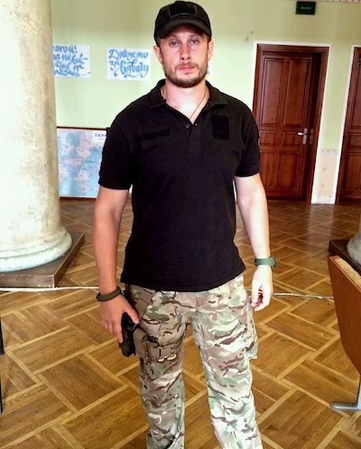 Командир спецбатальона «Азов» Андрей Билецкий.
