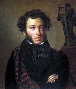 Портрет Александра Пушкина, выполненный в 1827 году Орестом Кипренским.