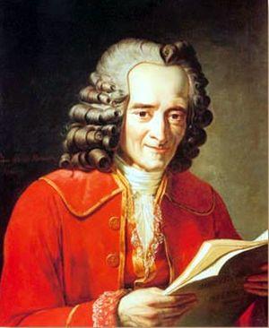 Вольтер (Франсуа-Мари Аруэ; 21.11.1694 – 30.05.1778).