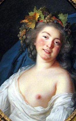 Портрет старшей дочери Франсуа де Тотта – Софи (1758-1848).