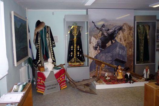 Один из залов музея Салавата Юлаева в Палдиски.