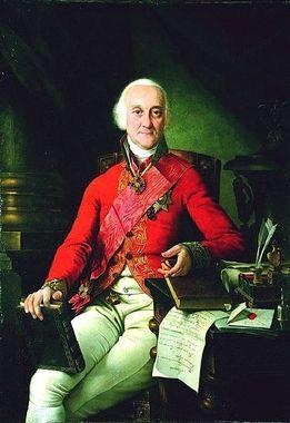 Павел Степанович Рунич, портрет 1817 года кисти Николая Аргунова.
