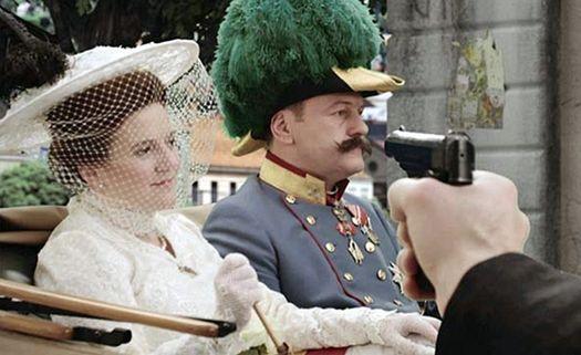 За секунду до выстрела Гаврило Принципа: кадр из фильма «Дорога к Первой мировой».