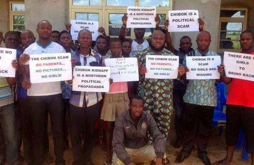 Некоторые африканцы уверены: похищения девочек из нигерийский школы в городе Чибок вообще не было!