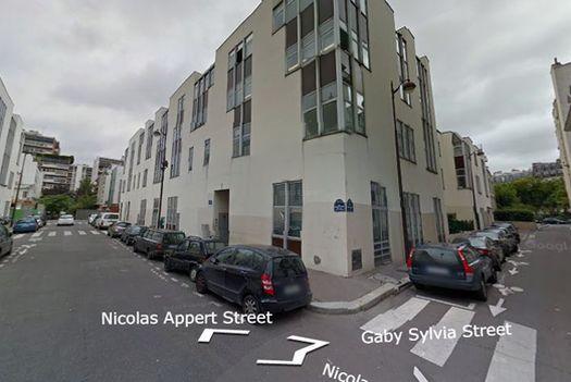 Редакция «Charlie Hebdo» располагается в крохотном квартале: от перекрёстка Никола Аппер с Габи Сильвья (справа) до перекрёстка с Алле Верт – рукой подать. Последний квартал Никола Аппер (до пересечения с улицой Пеле) является пешеходным…