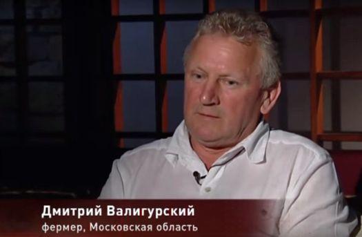 Дмитрий Валигурский, фермер (Московская область).