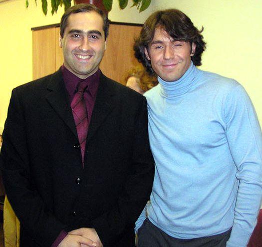 Шота Горгадзе и Андрей Малахов.