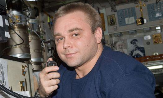 Герой России, лётчик-космонавт Максим Сураев.