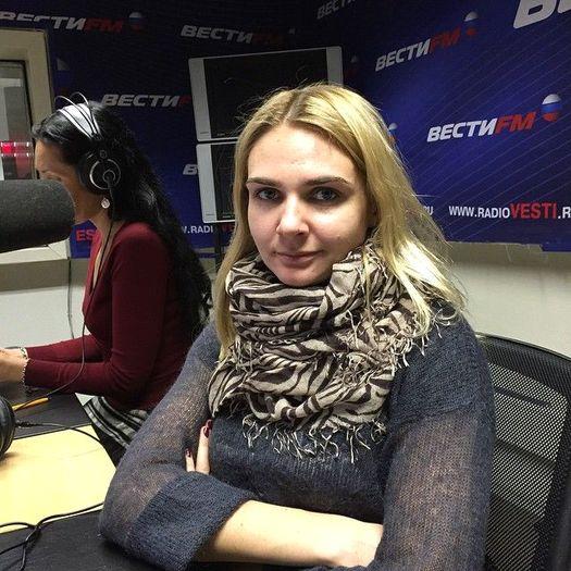 Анна Шафран, ведущая радиостанции «Вести FM».