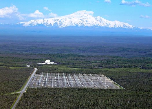 Станция «HAARP» на Аляске.