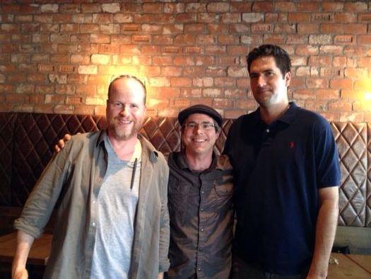 Энди Вейер, Джосс Уидон (Joss Whedon) и Дрю Годдард (Drew Goddard).