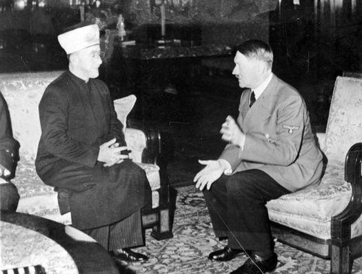 Amin al Husseini und Adolf Hitler. 28.11. 1941