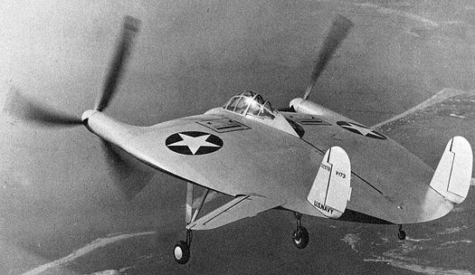 «Скиммер» Чарльза Циммермана (он же – Vought V-173 «Flying Pancake»).