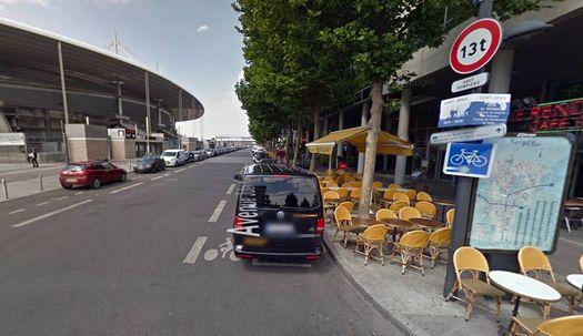 Стадион «Stade de France».