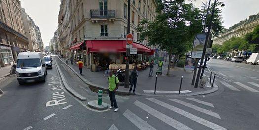 Кафе «Comptoir Voltaire».